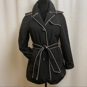 Style & Co Trench Coat Size Petite Medium